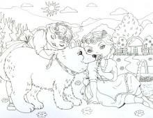 Märchenausmalbilder